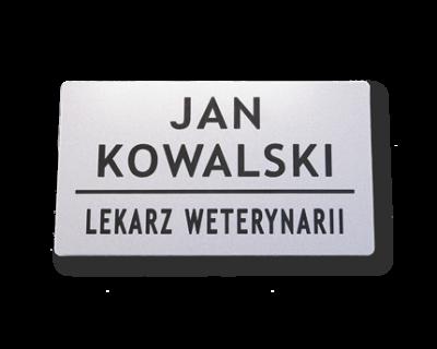 Identyfikatory dla personelu zgodne z uchwałą KRLW